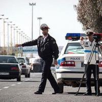 اقدام جالب پلیس راهنمایی و رانندگی مشهد +تصویر