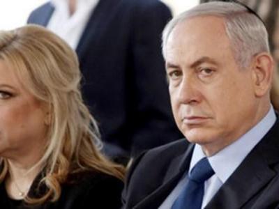 نتانیاهو رفتار زننده همسرش را توجیه کرد+فیلم