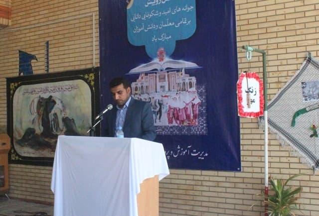 زنگ بازگشایی مدارس شهرستان ابوموسی نواخته شد + تصاویر