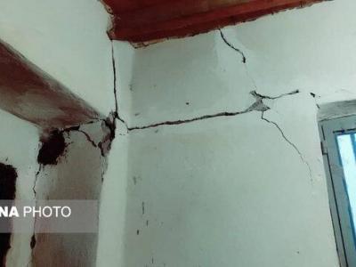 خسارات زلزله در کوخرد هرمزگان