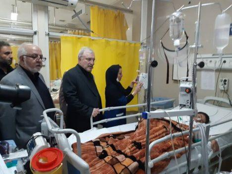 آخرین خبرها از وضعیت مصدومان مراسم تشییع پیکر امروز از زبان وزیر بهداشت + عکس