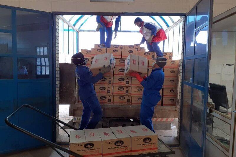 پرستاران ۱۳۰میلیون ریال به خانواده های محروم بشاگرد کمک کردند