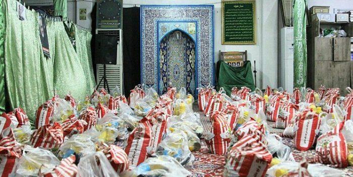 توزیع ۱۰۰۰ بسته معیشتی توسط «بسیجیان» یک محله/ عطر «مواسات» از مسجد «غدیر» به مشام میرسد+عکس