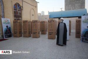 مهر کریمانه| اهدای ۳۶ دستگاه یخچال به نیازمندان محله کوی ملت بندرعباس+عکس