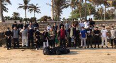 ۱.۵ تُن زباله از سواحل گردشگری قشم جمع آوری شد